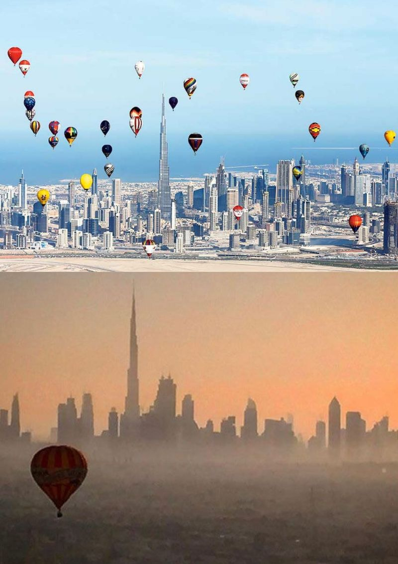 Balloon over Dubai