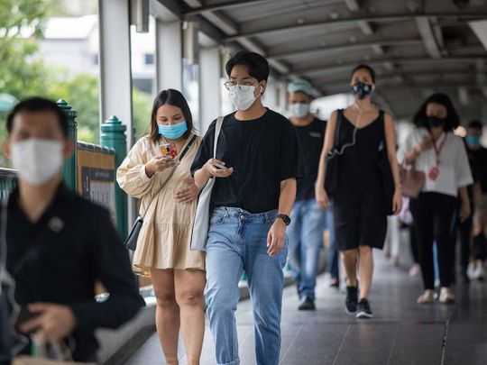 Bangkok masks thailand