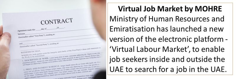 How to find a UAE job onine
