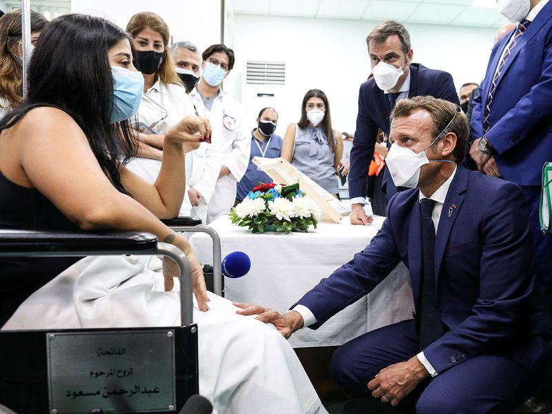 Lebanon visit macron