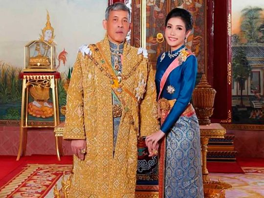 Thailand king and consort