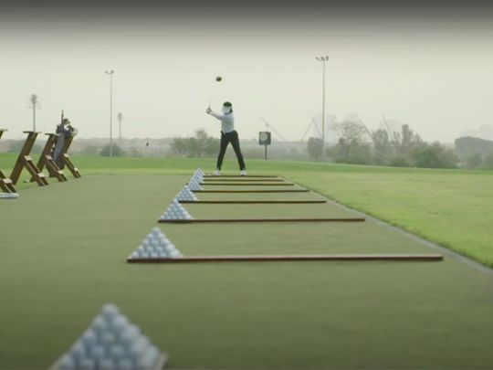 'Out of the Rough', a short film released celebrating the role of golf in helping young Emiratis cope with the lockdown.