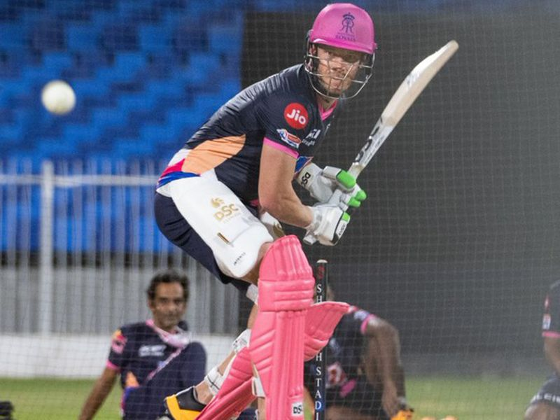 And Rajasthan Royals' David Miller got his hands on a bat for the first time in a nets session.