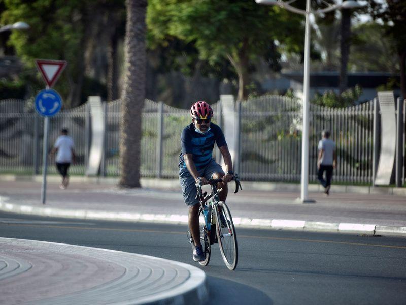 Cycling in Dubai
