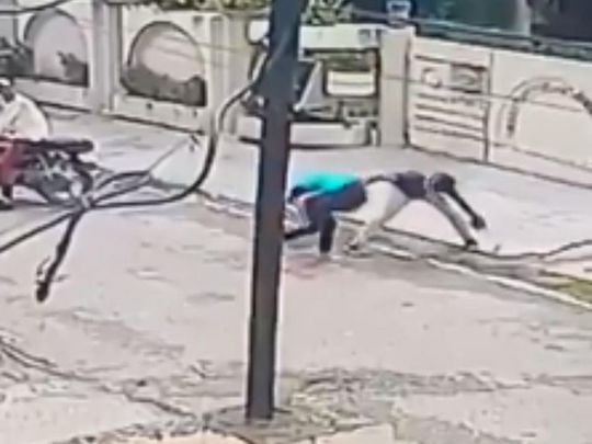 Girl fights back phone snatchers in viral video