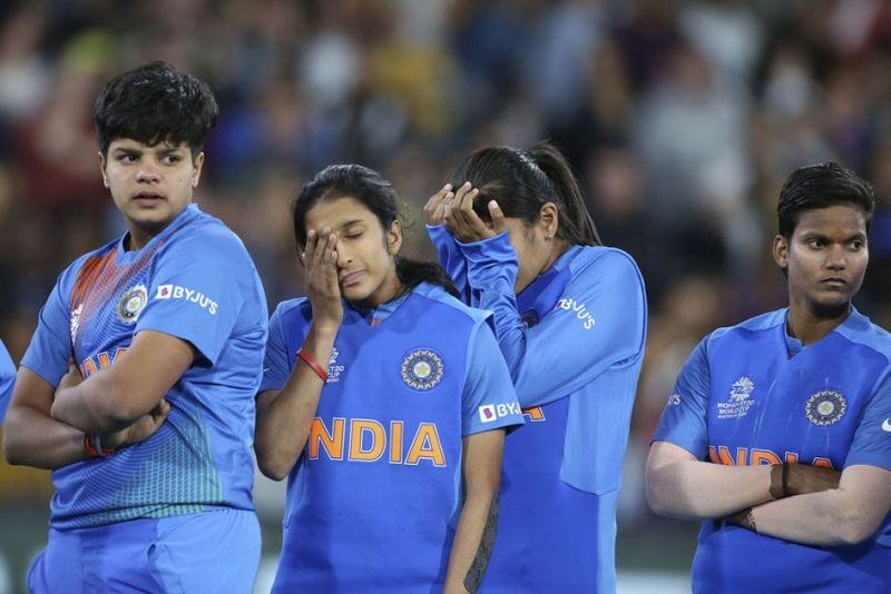 India were in tears after the loss to Australia