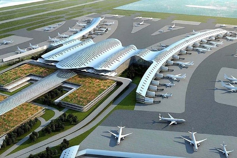 Manila's second international airport is designed to accommodate 100 to 200 million travellers annually — higher than the Ninoy Aquino International Airport's 31-million-passenger capacity.