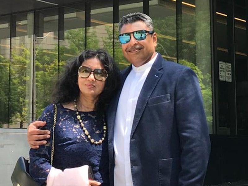 NAT TK Raman and his wife Uma-1599117210338