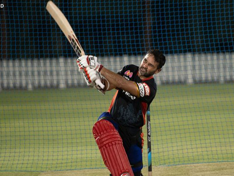 Royal Challengers Bangalore's Parhiv Patel was knocking them out of the park