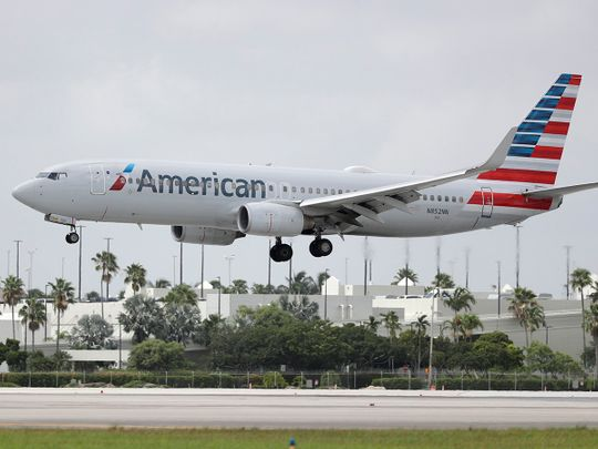 Stock Boeing American airlines