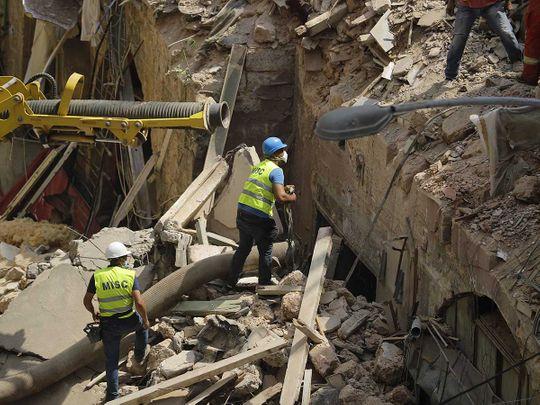 Beirut Lebanon rescue