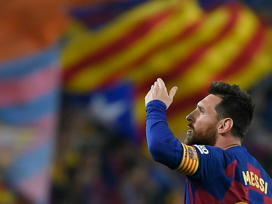 Lionel Messi staying at Barcelona