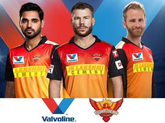 Sunrisers Hyderabad and Valvoline have joined forces