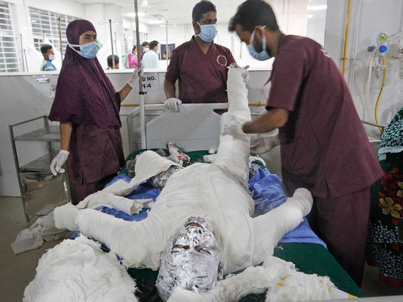 Bangladesh explosion