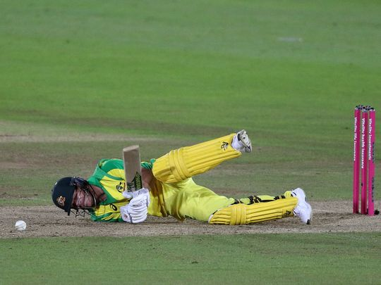 David Warner and Australia were downed by England.