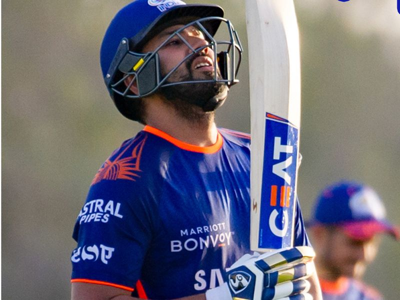 Mumbai Indians marked Indian Teachers Day on Saturday with the simple message: 'There's no better teacher than the game itself!'. Rohit Sharma looked deep in thought during training.