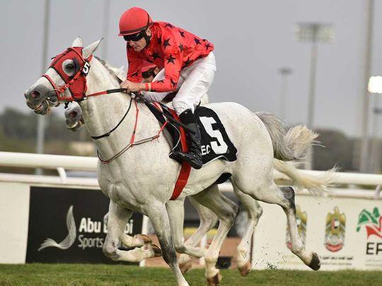 RB Burn has previously won the Sheikh Zayed bin Sultan Al Nahyan Jewel Crown