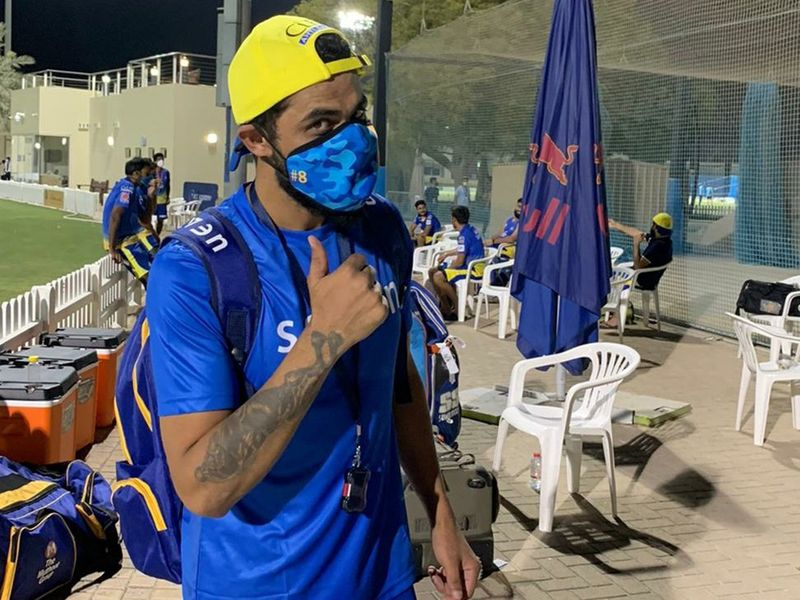 Ravindra Jadeja gave Chennai Super Kings' first training session pass marks after finally getting out onto the field following quarantine in Dubai