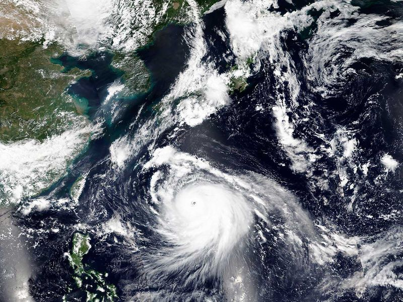 Typhoon Haishen