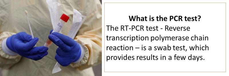 What is the PCR test?