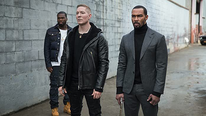 50 Cent, Joseph Sikora and Omari Hardwick in Power-1599385476333