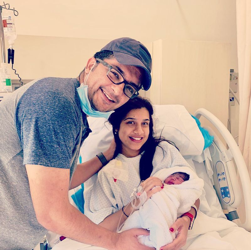 Sadaf safely delivered her baby girl, Emaan Shahin Khan, on 27 August 2020.