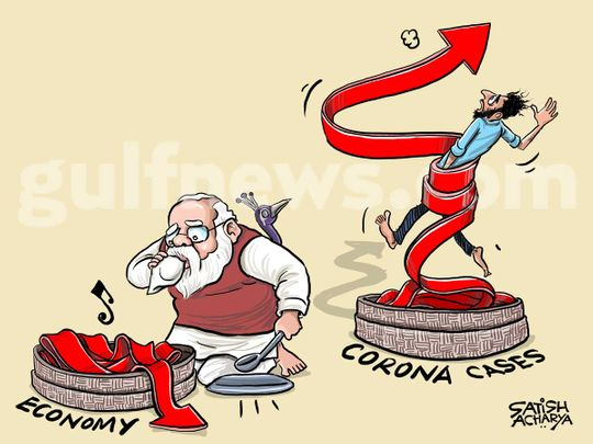 Satish Acharya Cartoon September 06