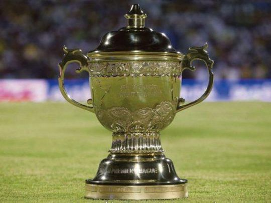 The Indian Premier League (IPL) trophy is up for grabs in the UAE this year.