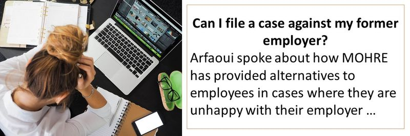 Can I file a case against my former employer?
