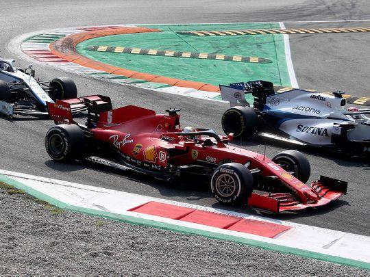 Ferrari were left behind at their home Italian GP in Monza