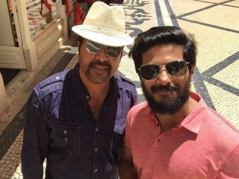 Mammootty Dulquer