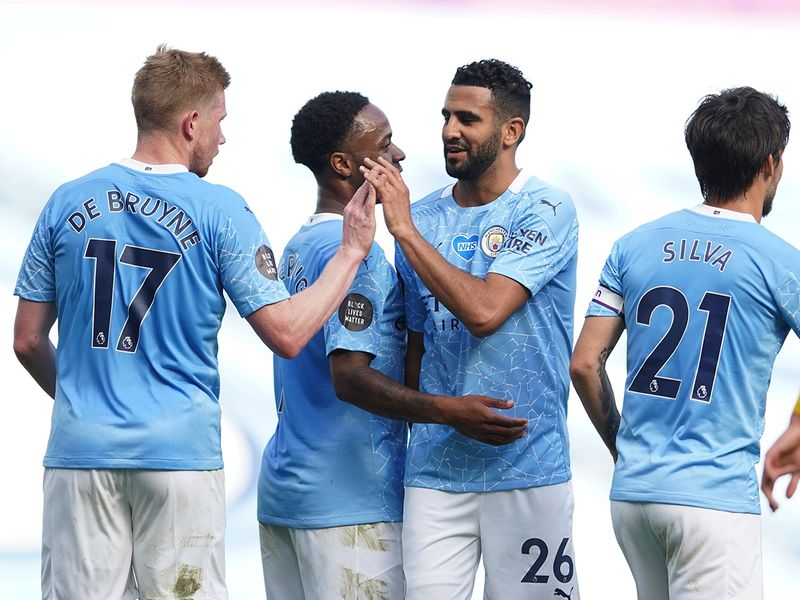 Manchester City's Riyad Mahrez has coronavirus