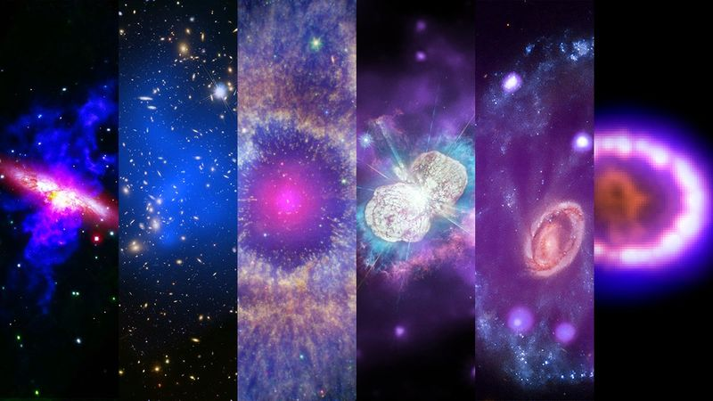 NASA releases stunning images of cosmic world