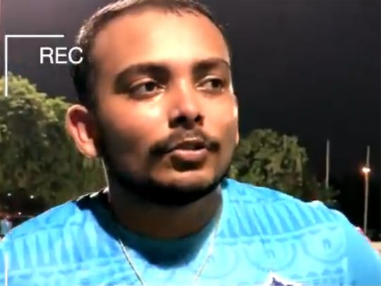 Prithvi Shaw speaks to DCTV after his Delhi Capitals training session