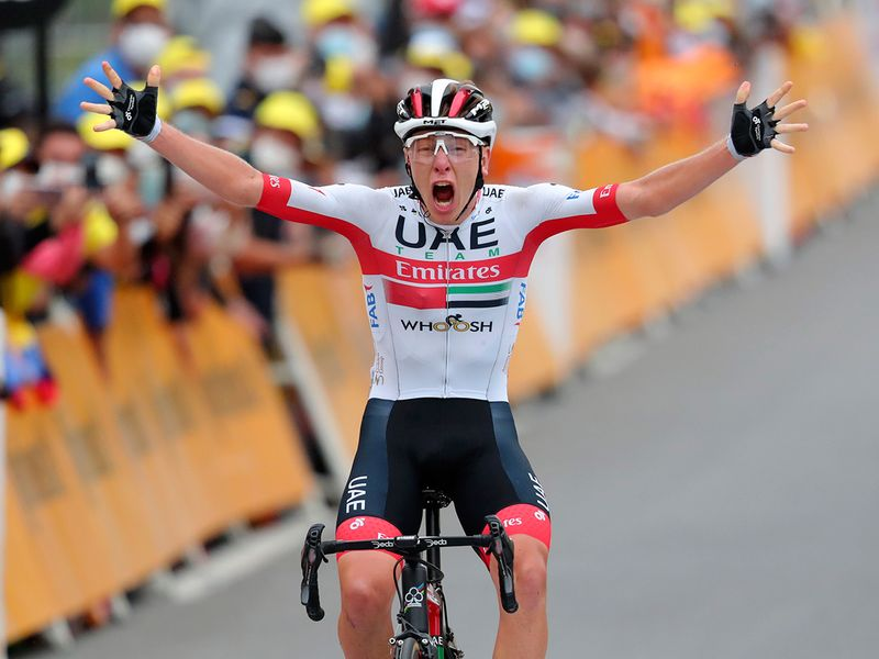 UAE Team Emirates' Tadej Pogacar created history by becoming the youngest rider in 21st century to win Tour stage in the gruelling Tour de France.