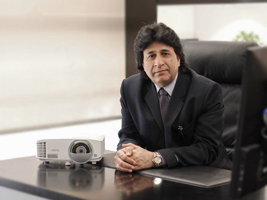 Manish Bakshi, Managing Director of BenQ Middle East and Turkey