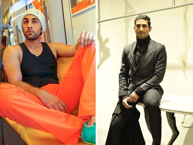 Ranbir Kapoor and Prateik Babbar