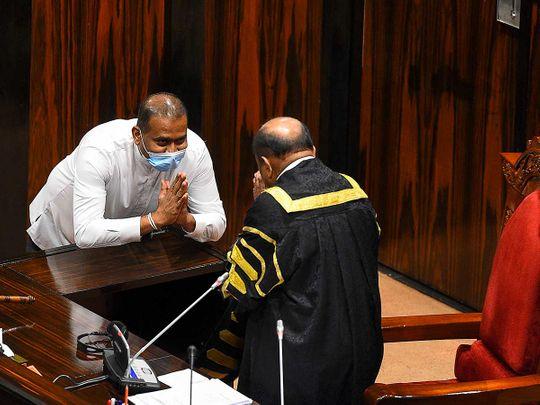 Sri Lanka's convicted murderer Premalal Jayasekara