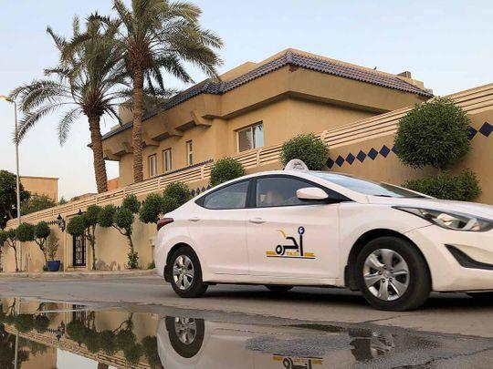 Stock Saudi Taxi