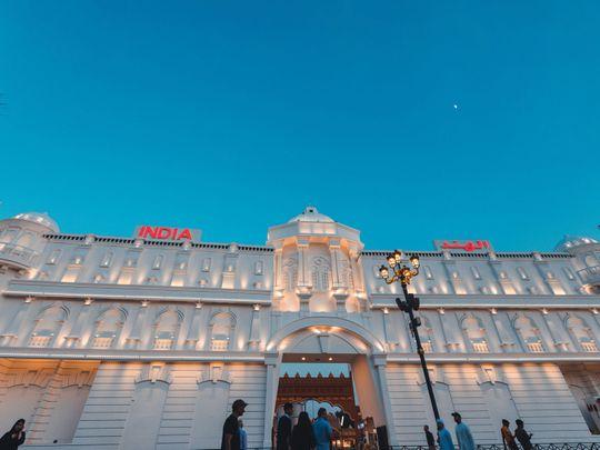 India pavillion