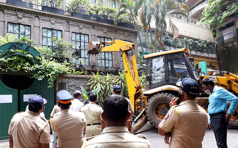 Kangana Ranaut's house demolition