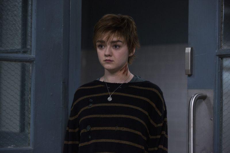Maisie WIlliams as Rahne SInclair aka Wolfsbane-1599639020222
