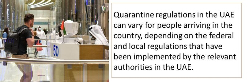Quarantine regulations