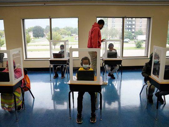 School Minneapolis reopen US