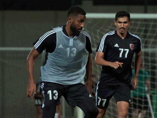 Al Wahda in training
