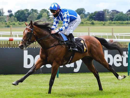 Haqeeqy won at Doncaster