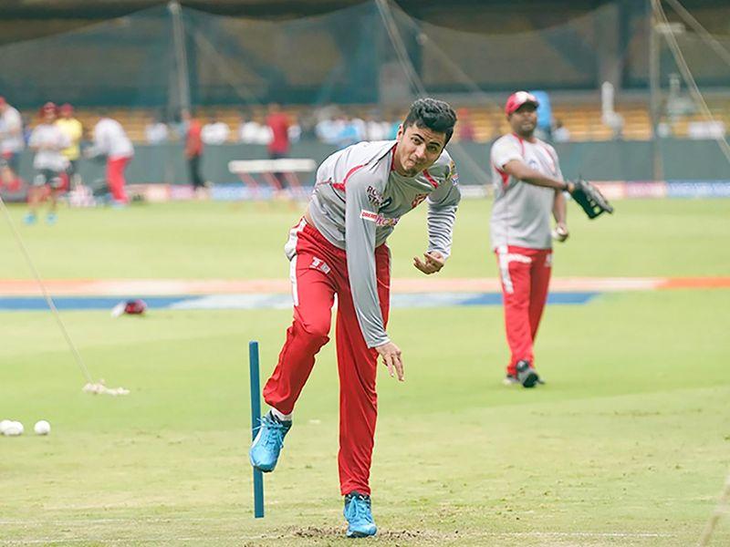 Kings XI Punjab spinner Mujeeb Ur Rahman