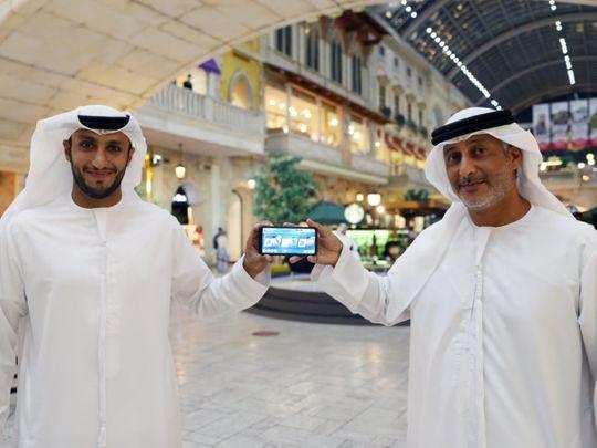 Mohammad Hareb and Hezaim Al Gamzi launch the DIMC app