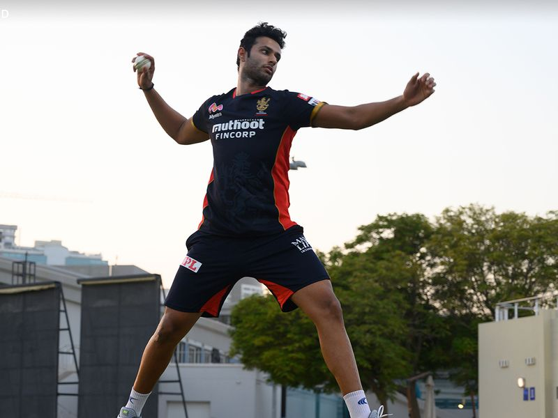 Training for the Royal Challengers Bangalore