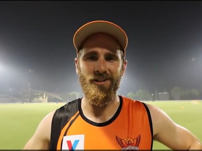 'It's great to be back among the guys again,' Williamson said after the session.